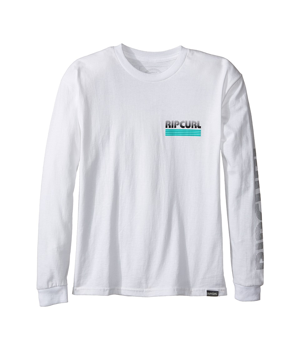 Rip Curl Kids - Mama Power Long Sleeve (Big Kids) (Off-White) Boy's Clothing