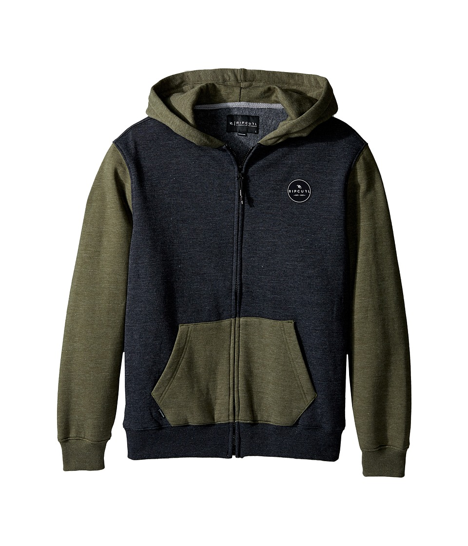 Rip Curl Kids - Dawn Patrol Fleece (Big Kids) (Green) Boy's Clothing