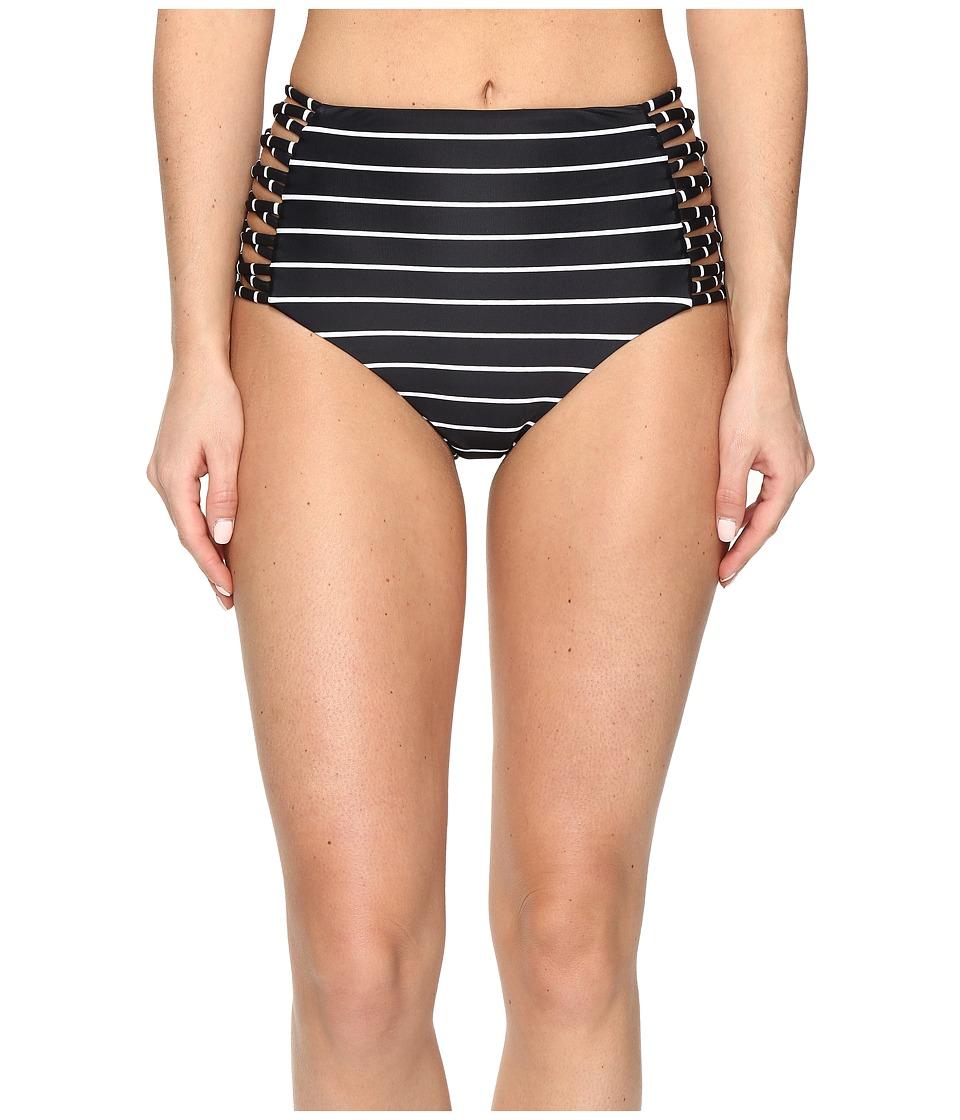 Amuse Society - Venah High-Rise Bottom (Black) Women's Swimwear