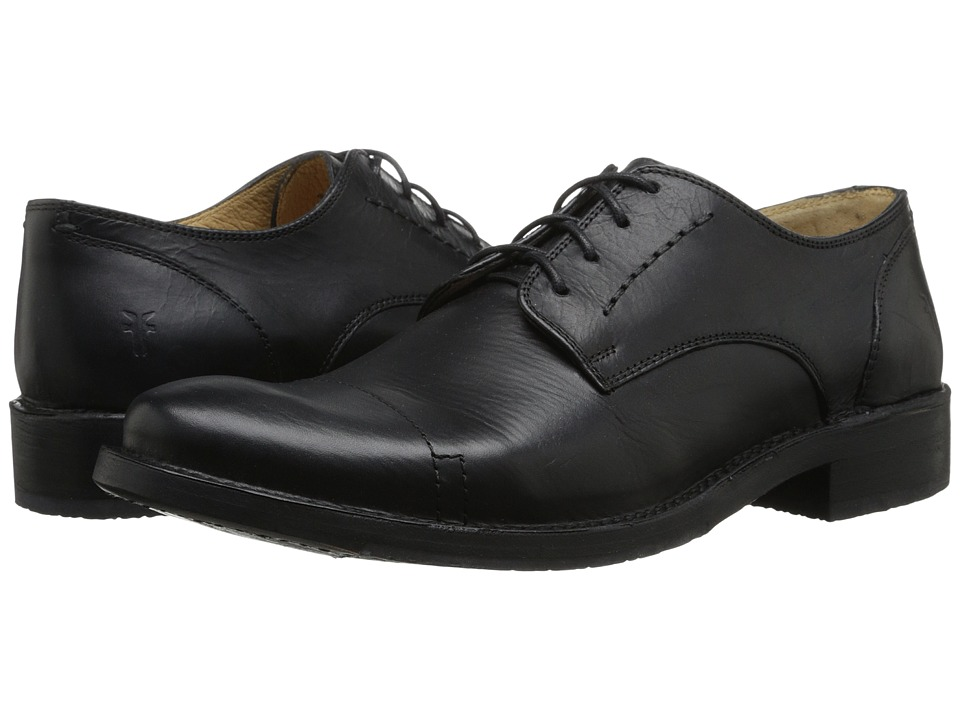 Frye - Oliver Oxford (Black 2) Men's Lace Up Cap Toe Shoes