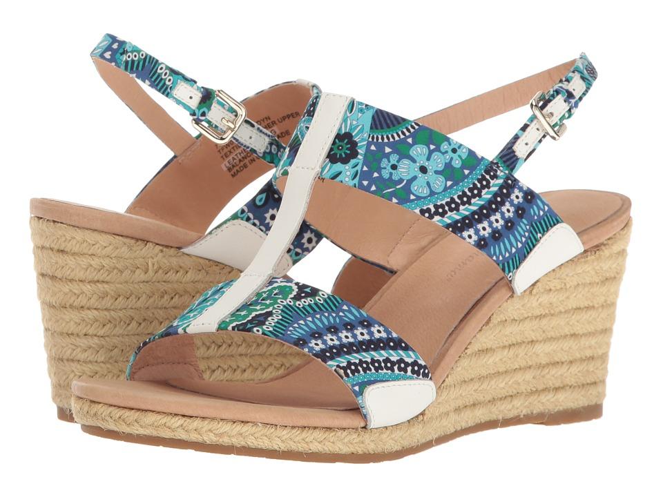 Tommy Bahama - Jaidyn (Fan Tropic Print/Cobalt Craze) Women's Sandals