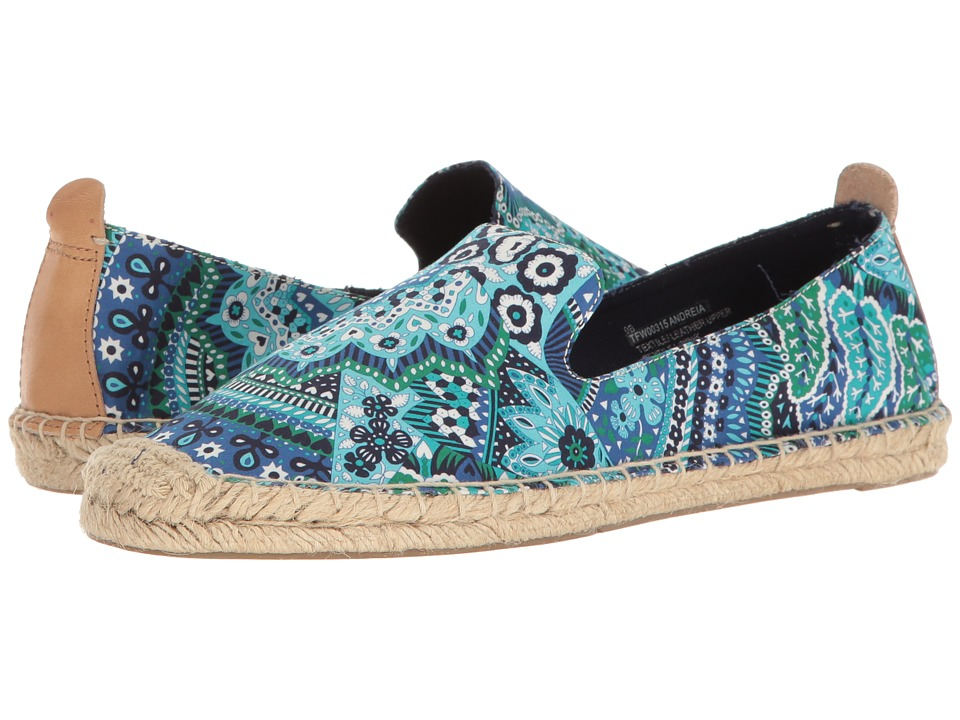 Tommy Bahama Andreia (Fan Tropic Print/Cobalt Craze) Women