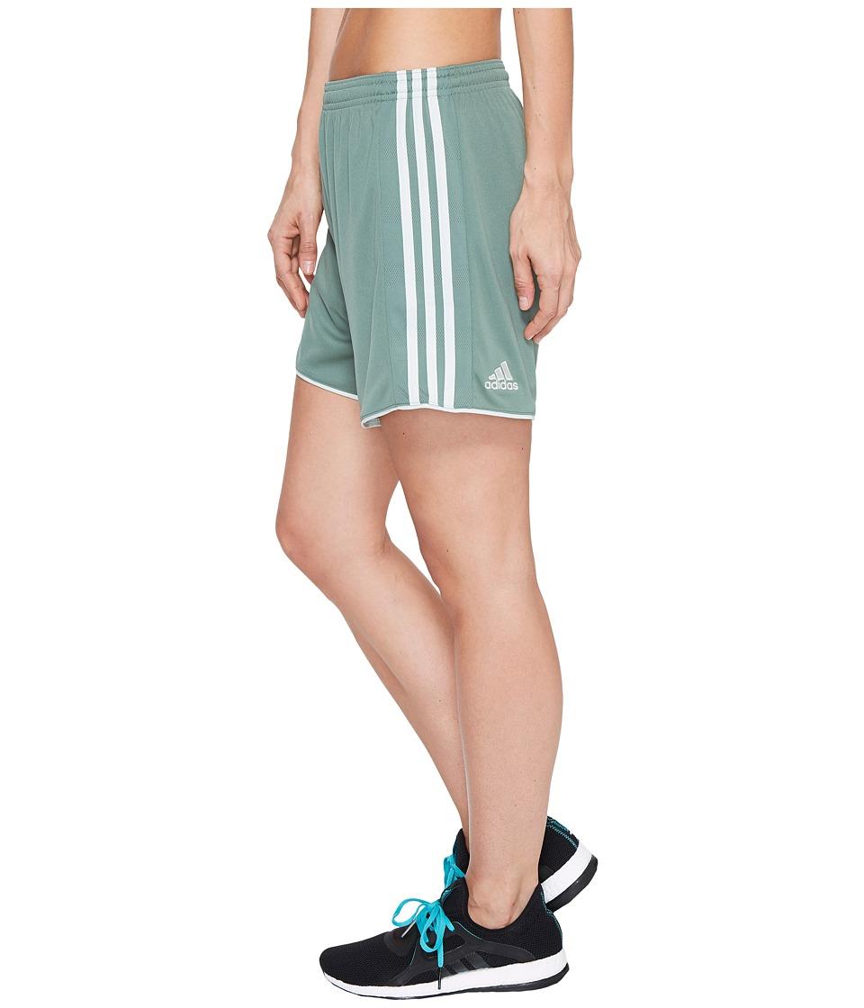 adidas - Tastigo 17 Shorts (Trace Green/Linen Green) Women's Shorts