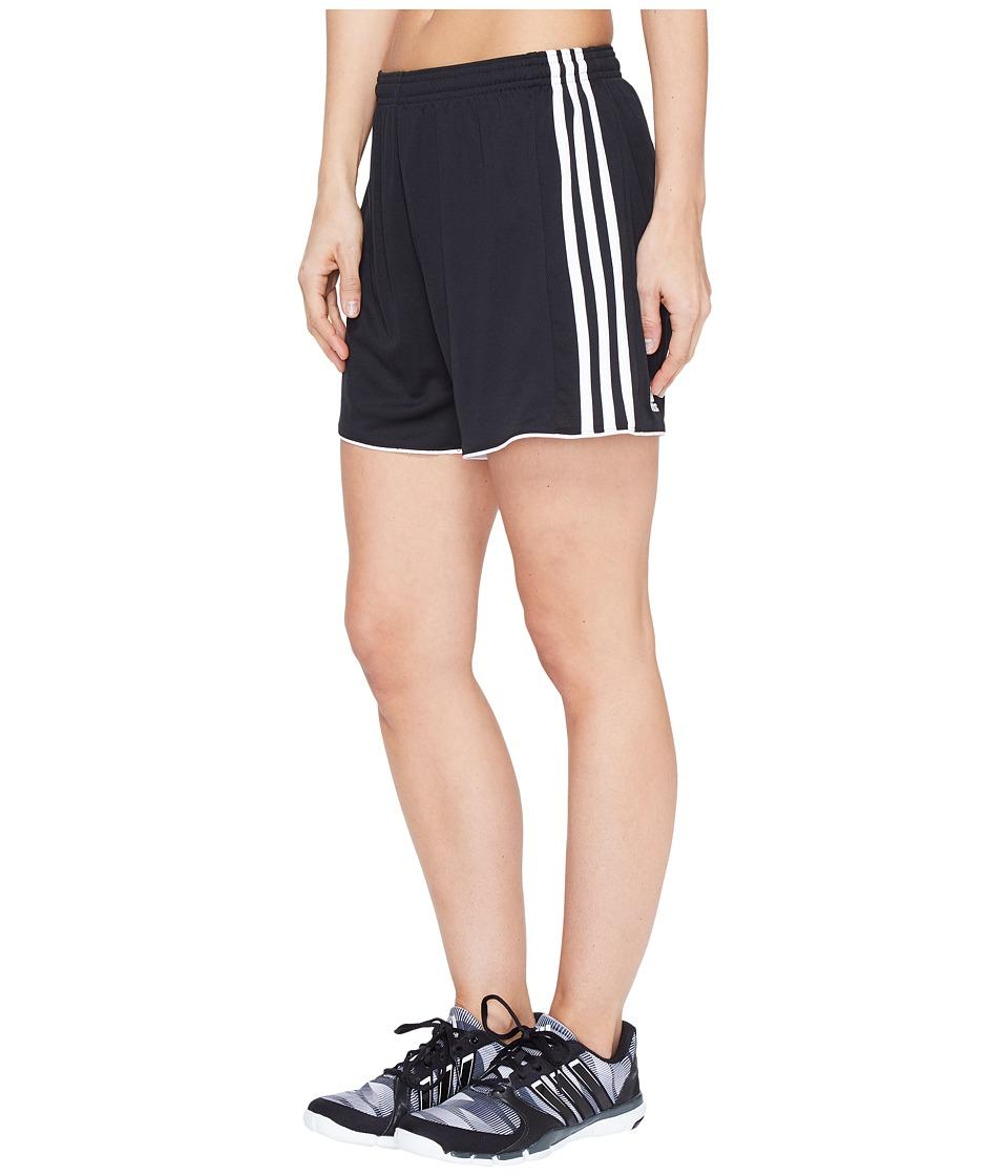adidas - Tastigo 17 Shorts (Black/White) Women's Shorts