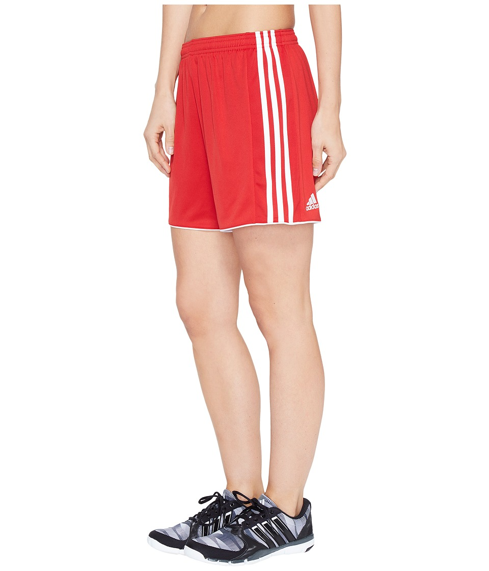 adidas - Tastigo 17 Shorts (Power Red/White) Women's Shorts