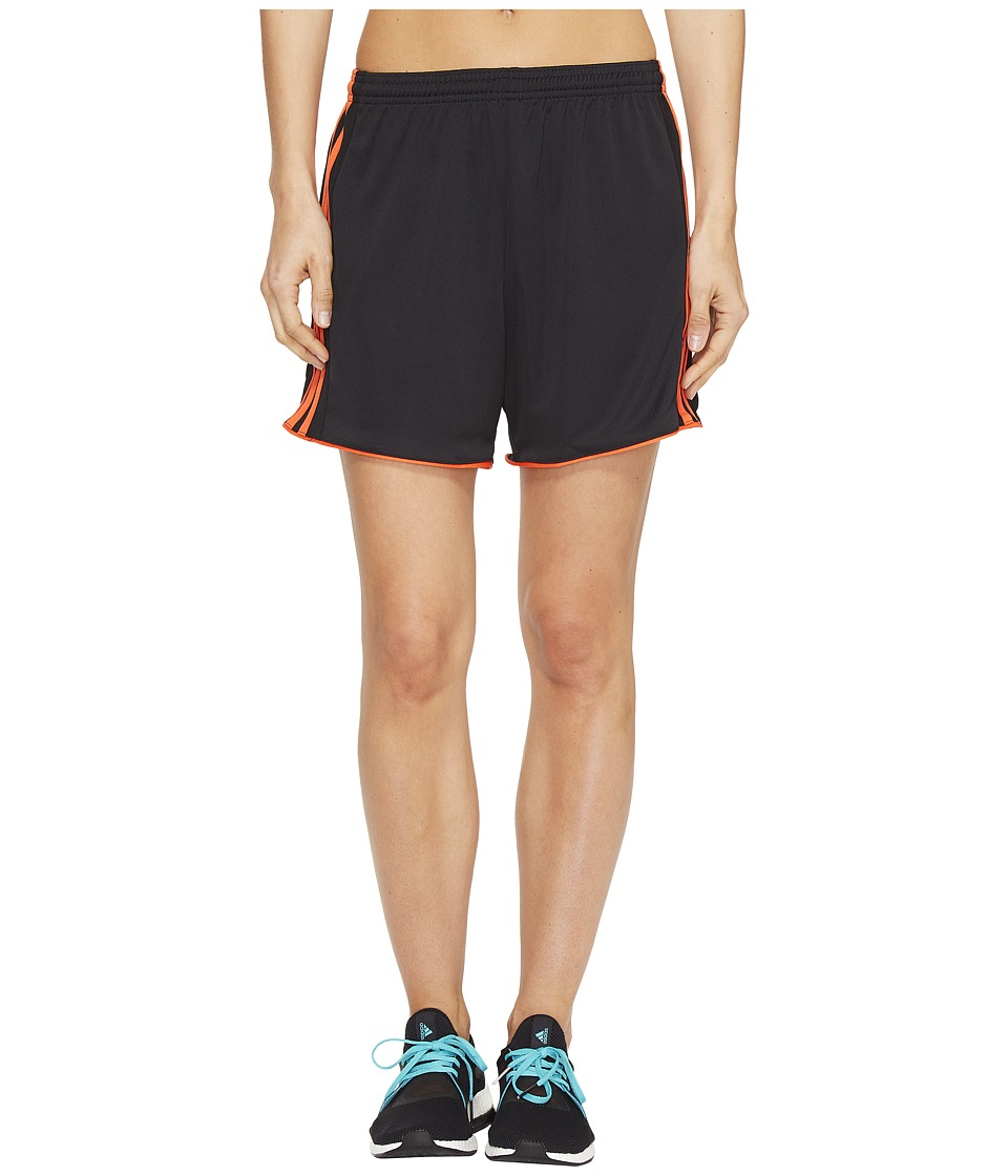adidas - Tastigo 17 Shorts (Black/Energy) Women's Shorts
