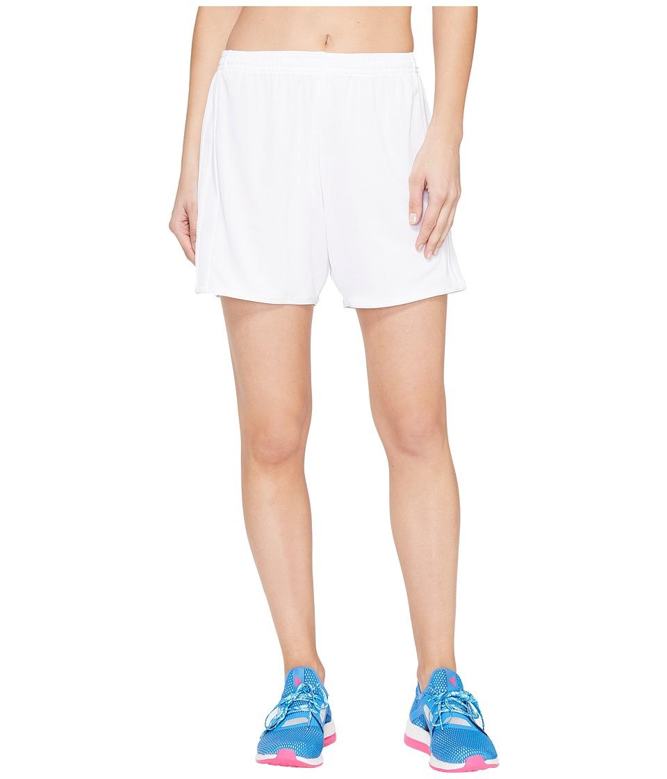 adidas - Tastigo 17 Shorts (White/White) Women's Shorts