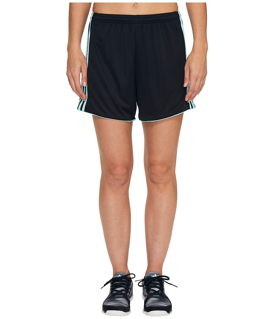 adidas - Tastigo 17 Shorts (Black/Clear Aqua) Women's Shorts