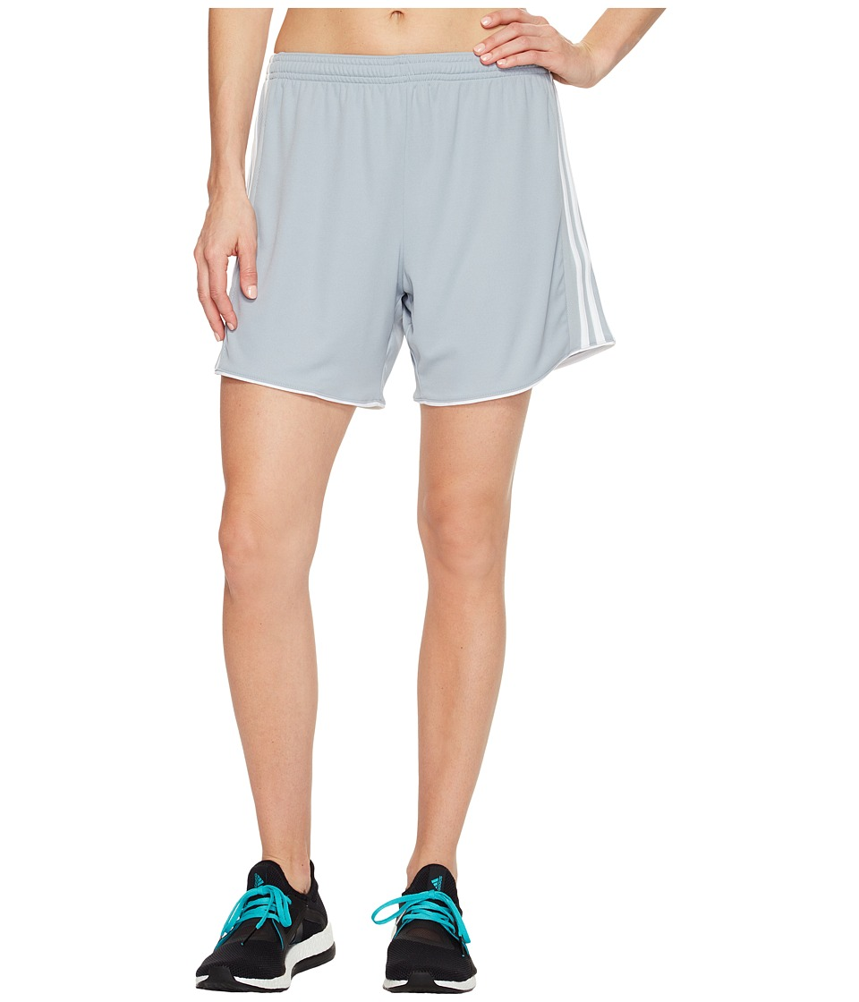 adidas - Tastigo 17 Shorts (Light Grey/White) Women's Shorts