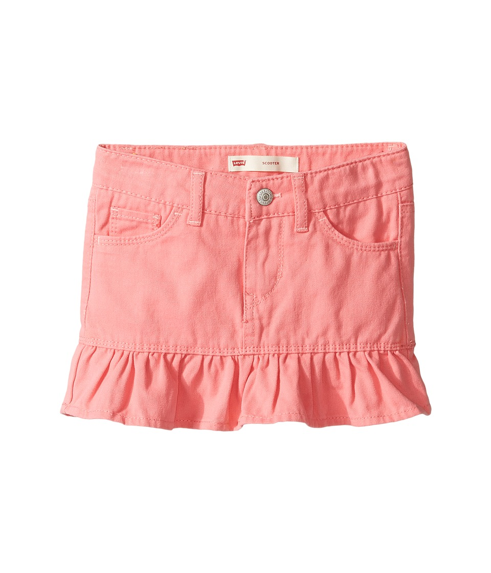 Levi's(r) Kids - Alessandra Scooter Skirt (Little Kids) (Strawberry Pink) Girl's Skort