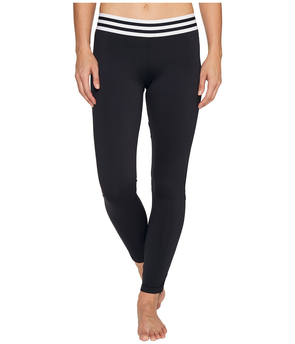 adidas - Sport ID Zipper Leggings (Black) Women's Workout
