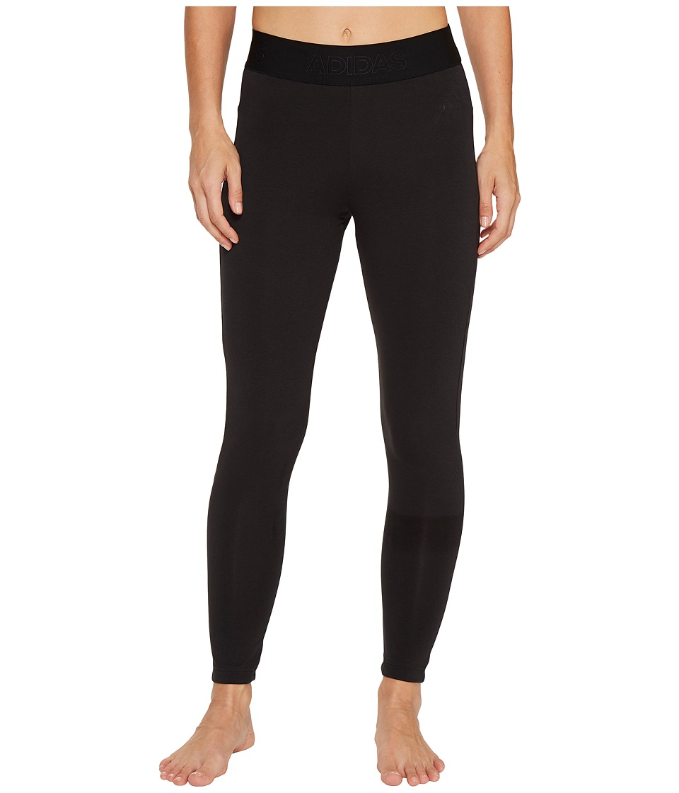 adidas - Away Day Tights (Black) Women's Workout
