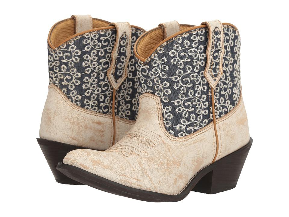 Laredo Kymber (Bone/Blue) Cowboy Boots