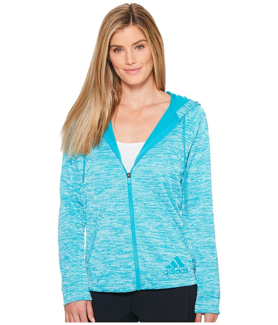 adidas - Sport-2-Street Hoodie (Lab Green) Women's Sweatshirt