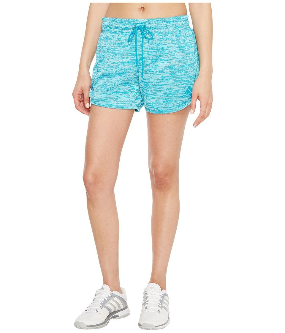 adidas - Sport-2-Street Shorts (Lab Green) Women's Shorts