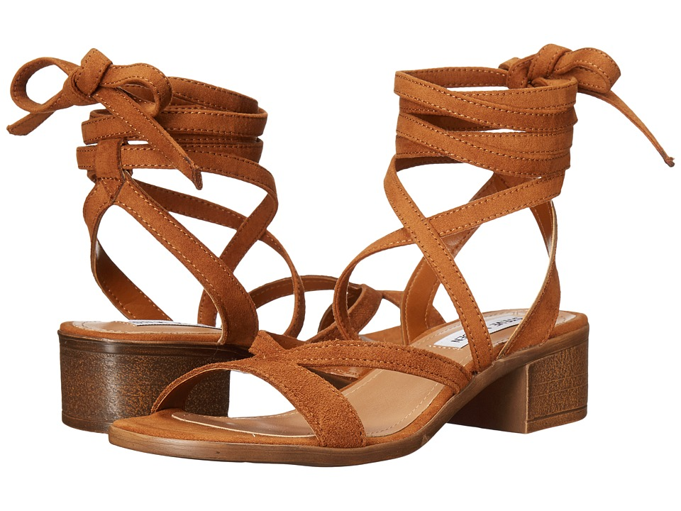 Steve Madden - Abagael (Cognac Suede) Women's Shoes