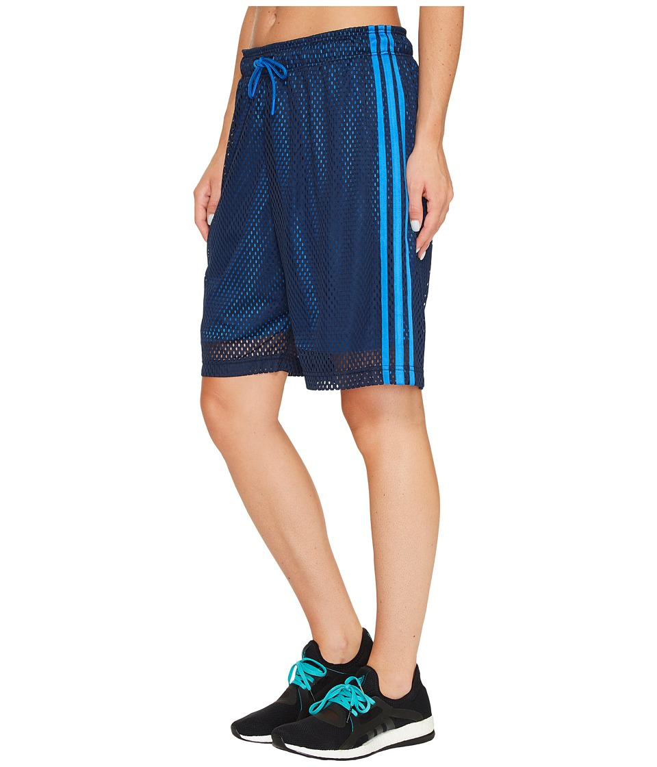 adidas - Baseline Basketball Shorts (Collegiate Navy/Blue) Women's Shorts