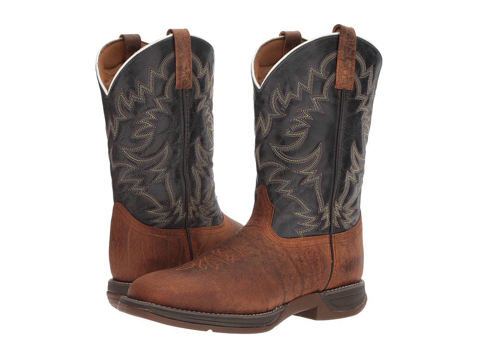 Laredo - Great Bend (Rust/Navy) Cowboy Boots