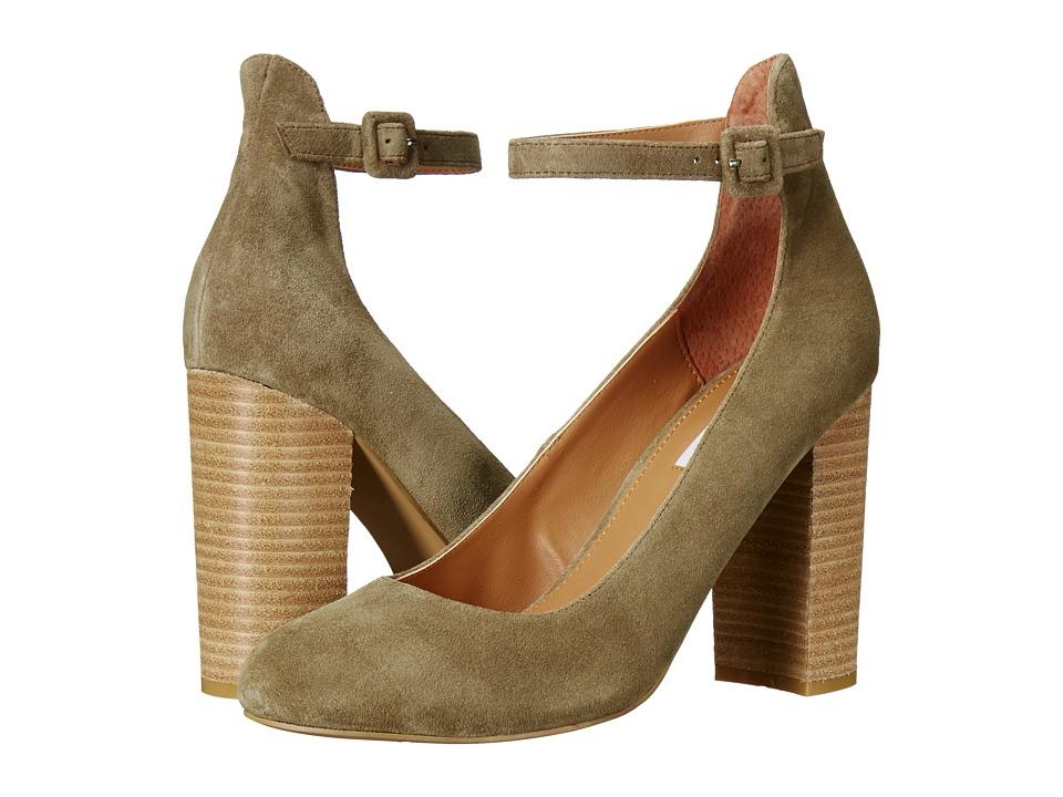 Steve Madden Verena Olive Suede Shoes