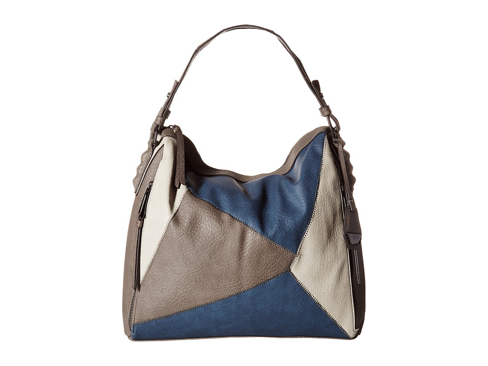 Jessica Simpson - Pamela Shopper (Steel/Indigo) Handbags