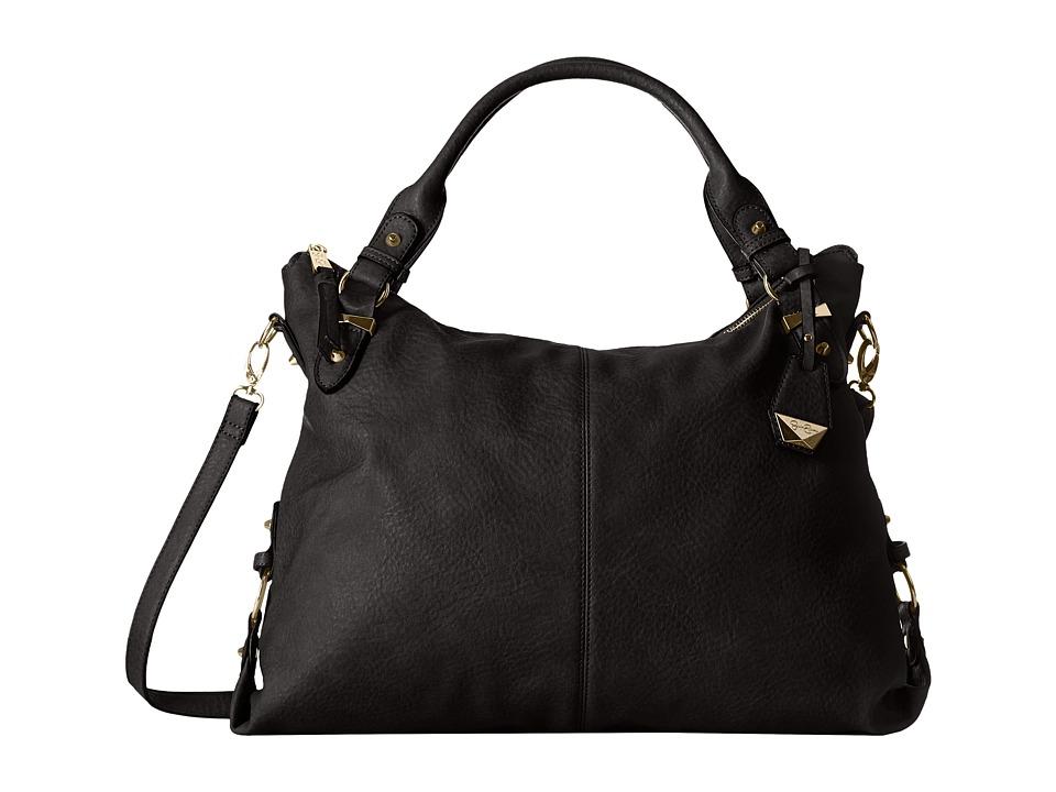 Jessica Simpson - Mara Crossbody Tote (Black) Tote Handbags