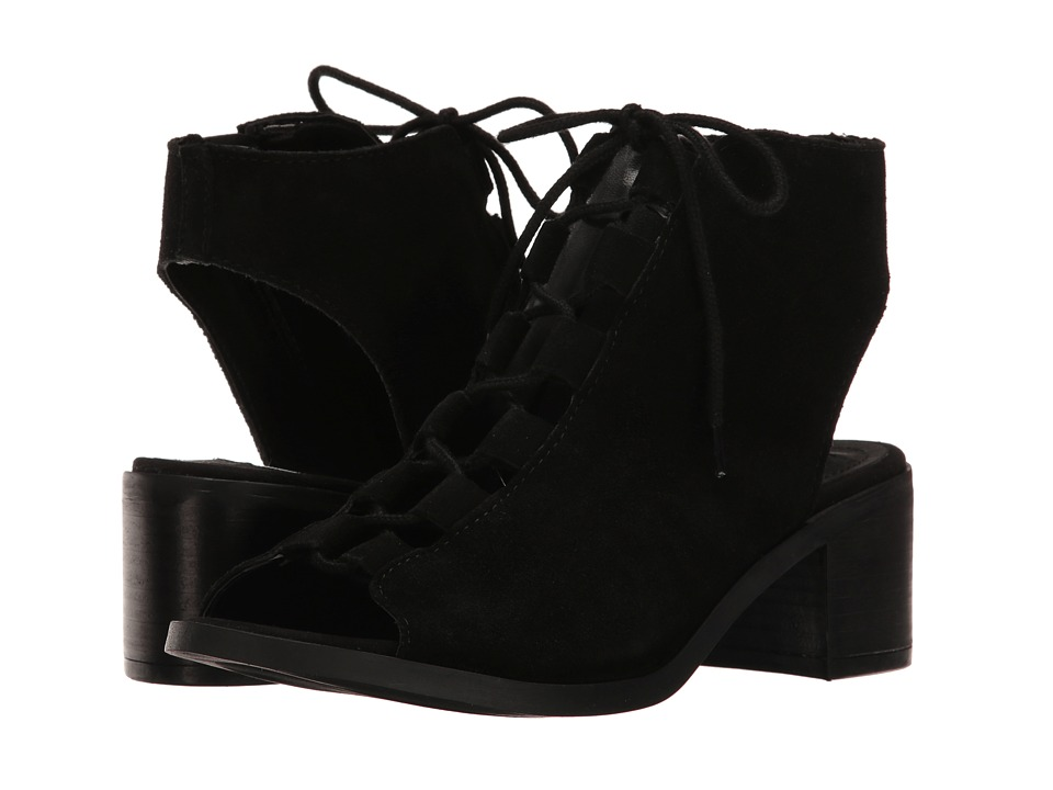 Steve Madden - Adelene (Black Suede) Women's Shoes