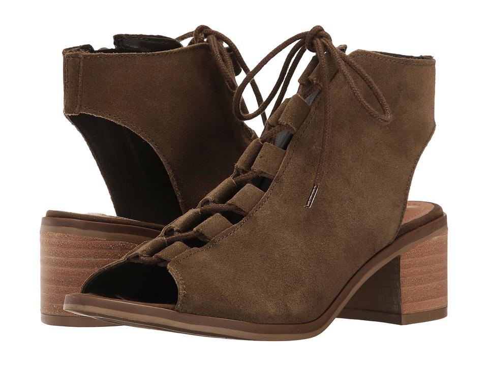 Steve Madden - Adelene (Olive Suede) Women's Shoes