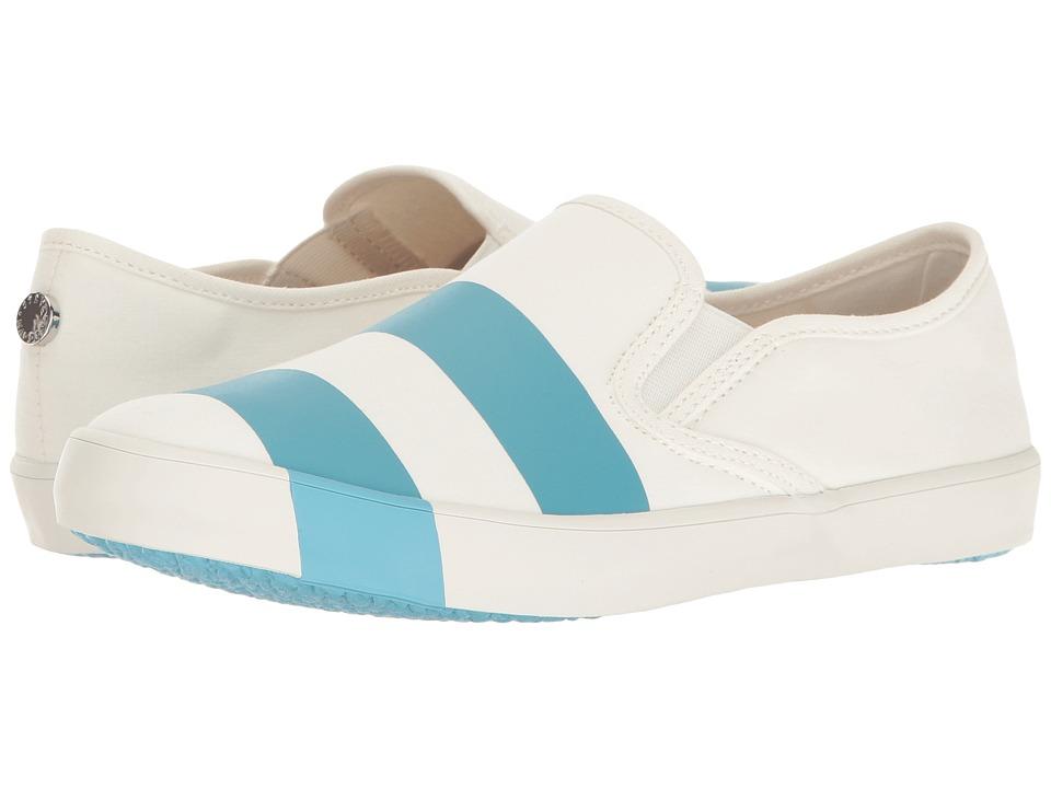 Steve Madden - Stylin (White/Blue) Women's Shoes