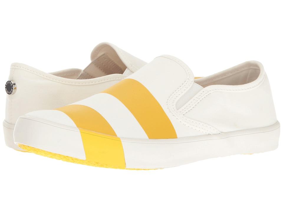 Steve Madden - Stylin (White/Yellow) Women's Shoes
