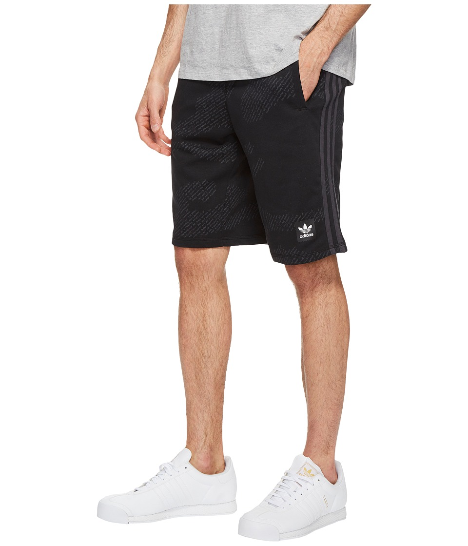 adidas Skateboarding Chillaxing Shorts (Black/Carbon) Men