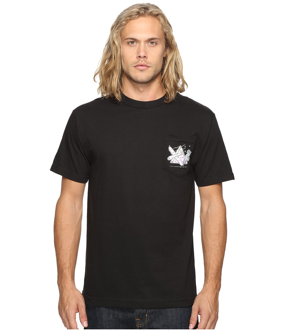 Benny Gold - Harrington Pocket T-Shirt (Black) Men's T Shirt