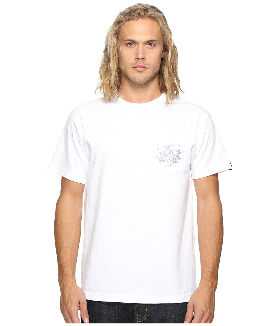 Benny Gold - Harrington Pocket T-Shirt (White) Men's T Shirt
