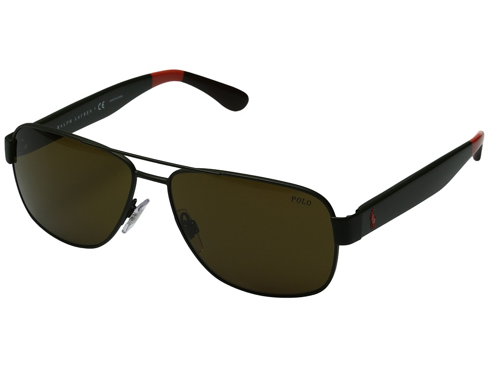 Polo Ralph Lauren - 0PH3097 (Brown) Fashion Sunglasses