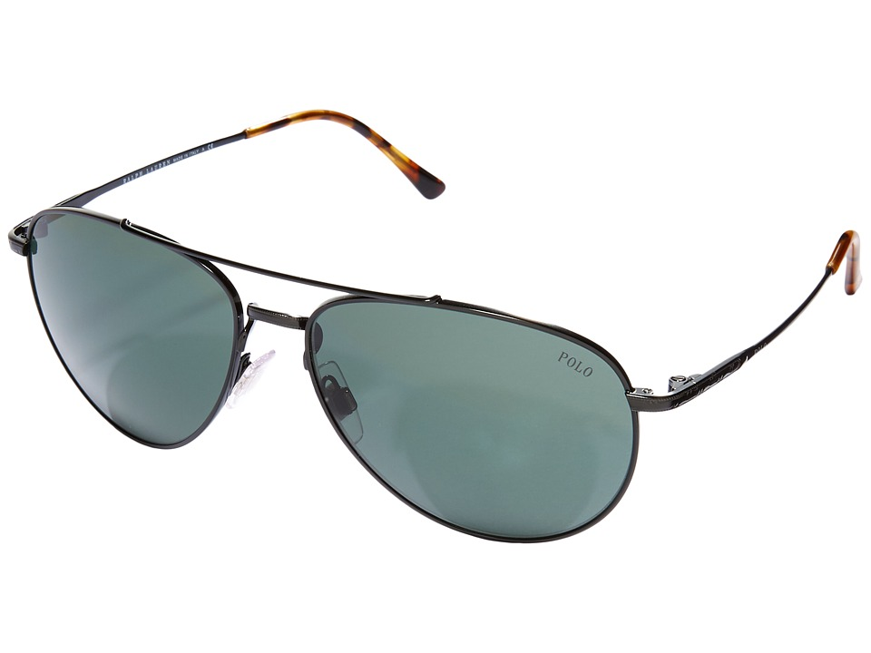 Polo Ralph Lauren - 0PH3094 (Black) Fashion Sunglasses