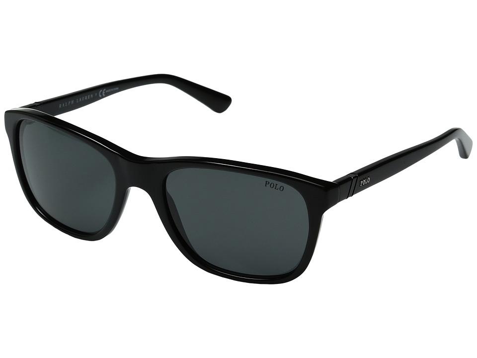 Polo Ralph Lauren - 0PH4085 (Black) Fashion Sunglasses