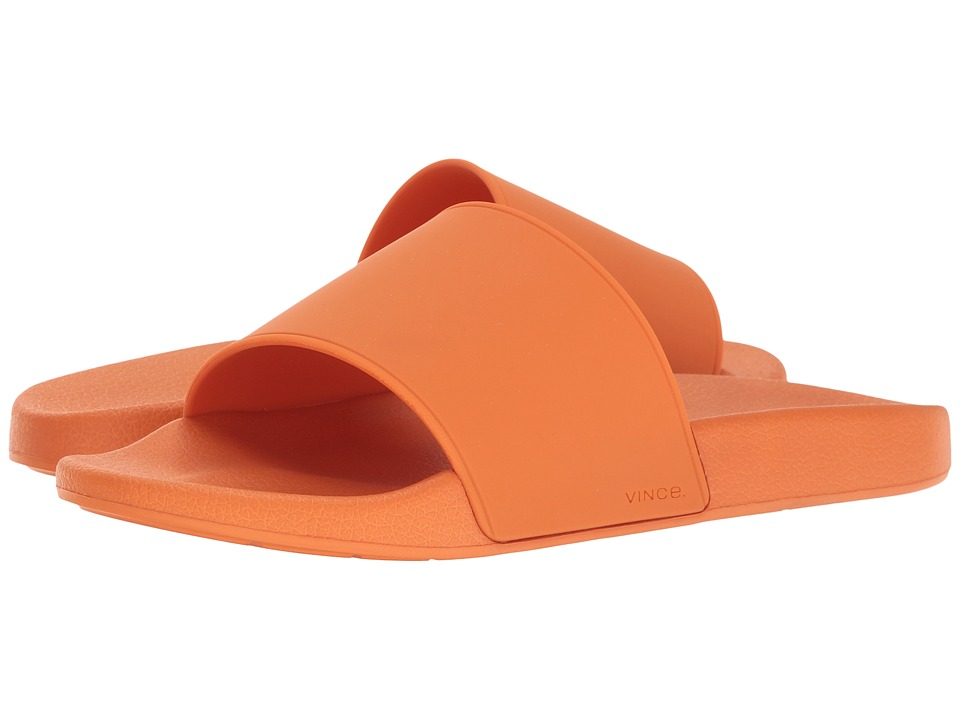 Vince - Westcoast Slide (Orange Rubber) Men's Slide Shoes
