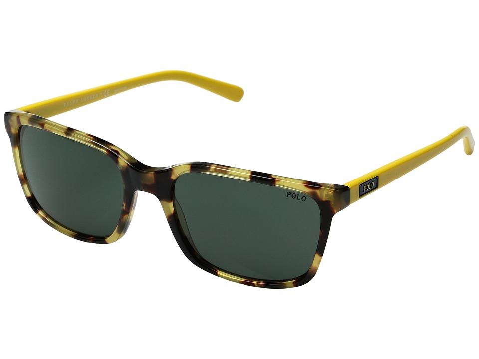 Polo Ralph Lauren - 0PH4103 (Spotty Tortoise) Fashion Sunglasses
