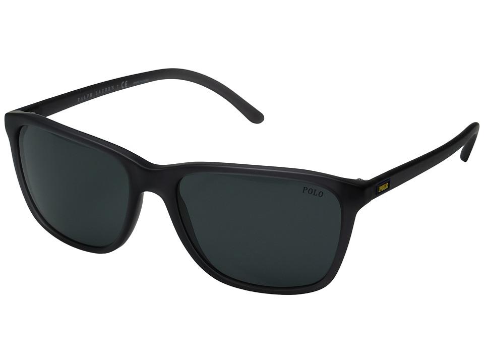Polo Ralph Lauren - 0PH4108 (Black) Fashion Sunglasses
