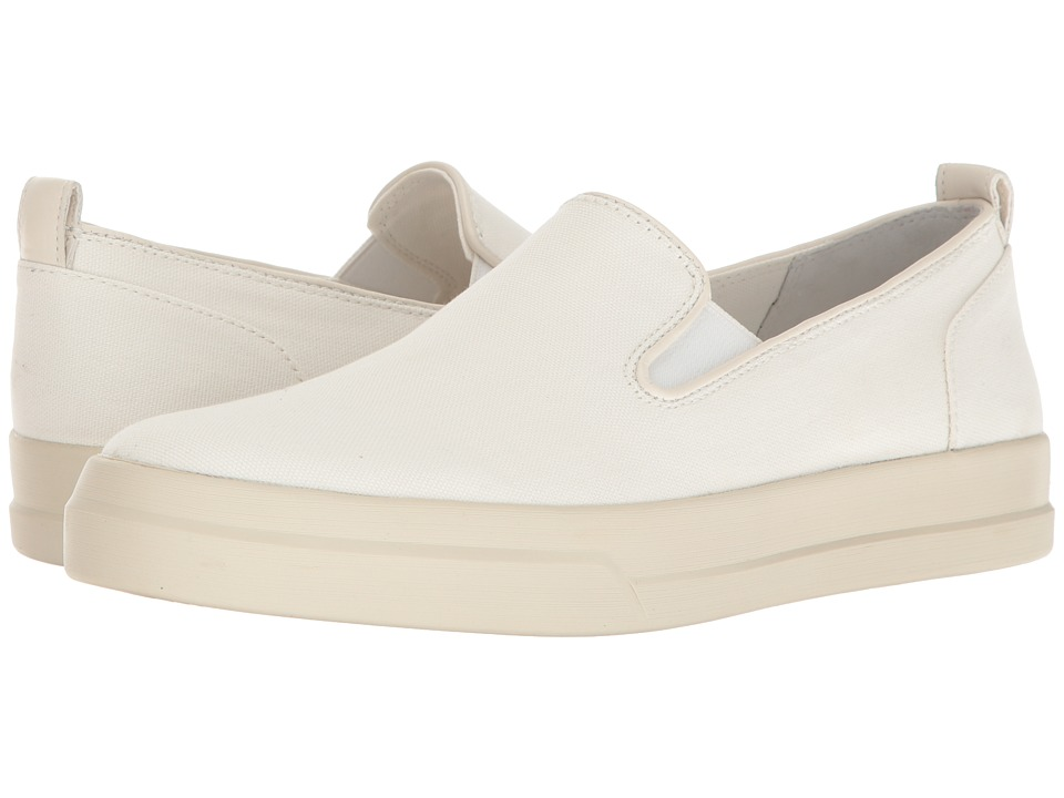 Vince - Carson Canvas Slip On (Off-White Canvas) Men's Slip on Shoes