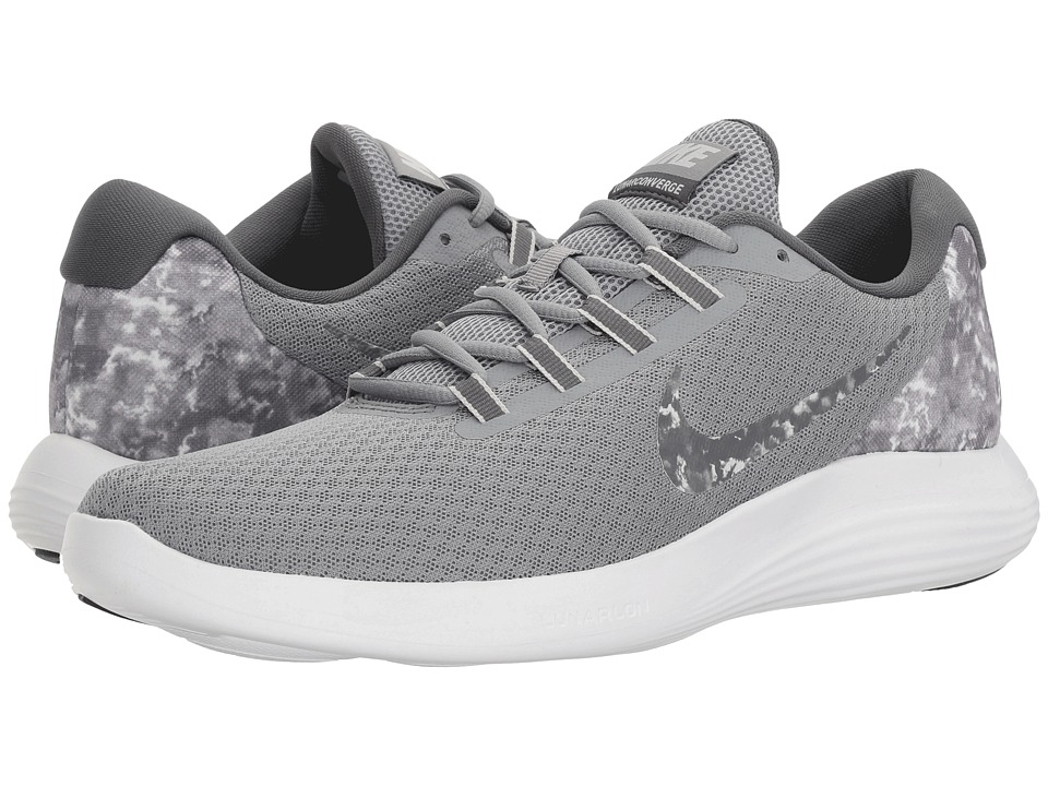Nike - Lunar Converge Premium (Stealth/Dark Grey/Dark Grey/White) Men's Shoes