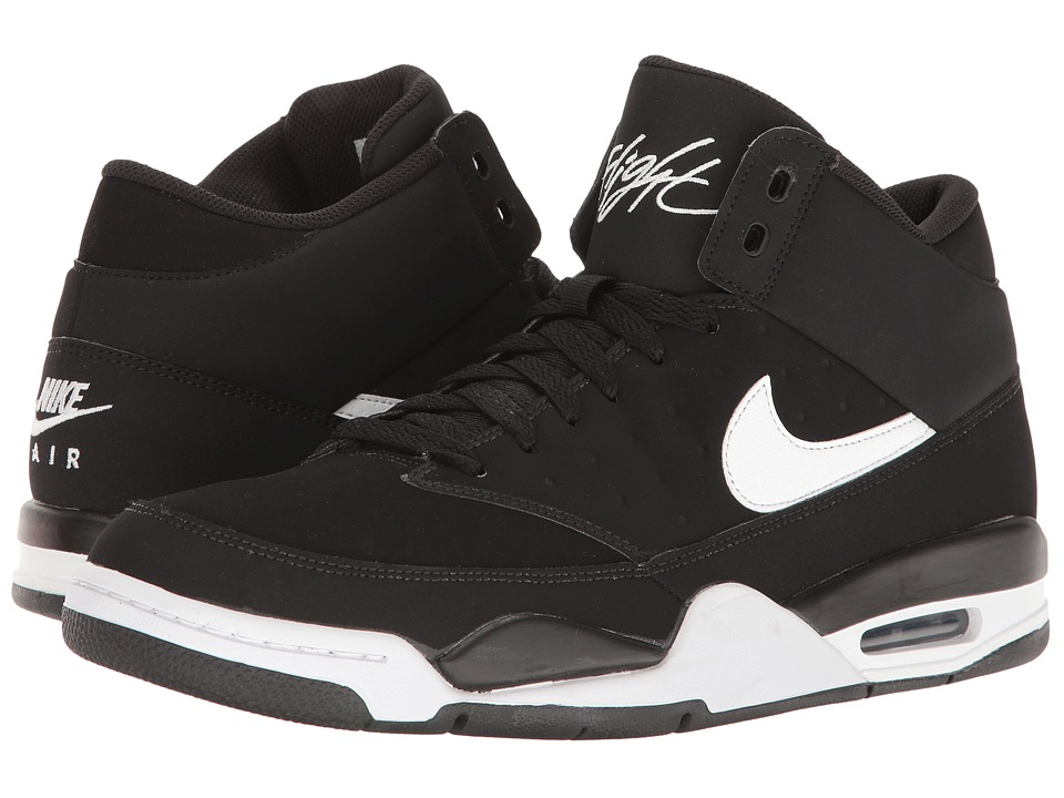 Nike - Air Flight Classic (Black/White) Men's Basketball Shoes