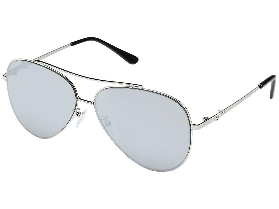 GUESS - GF0301 (Silver/Smoke Mirror Lens) Fashion Sunglasses
