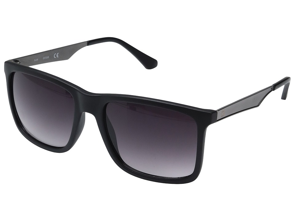 GUESS - GF0171 (Matte Black/Smoke Gradient Lens) Fashion Sunglasses