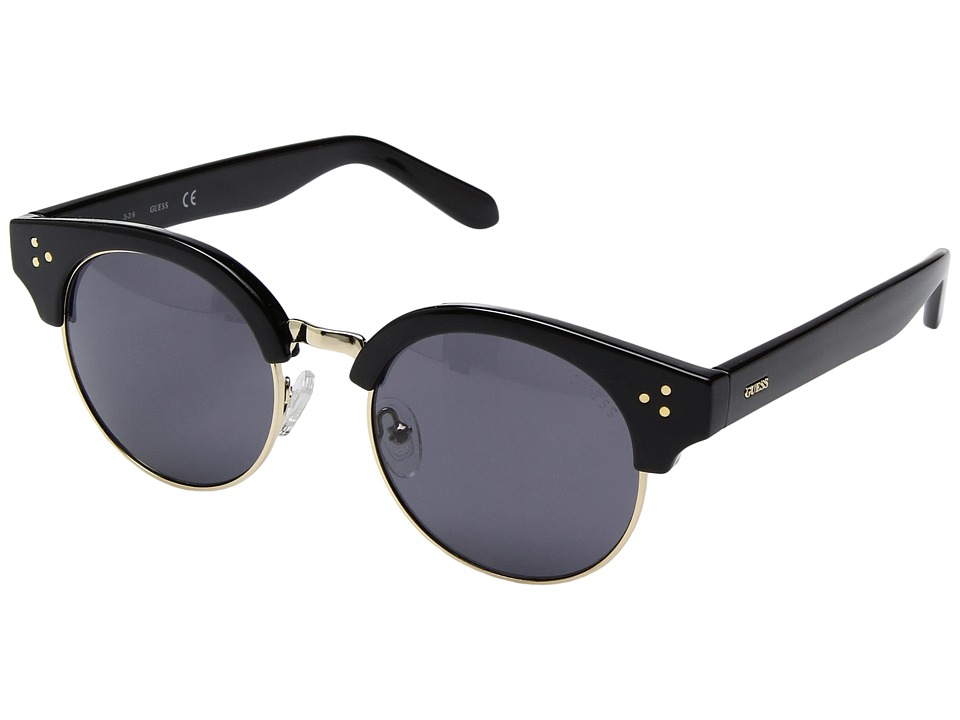 GUESS - GF6031 (Black/Smoke Gradient Lens) Fashion Sunglasses