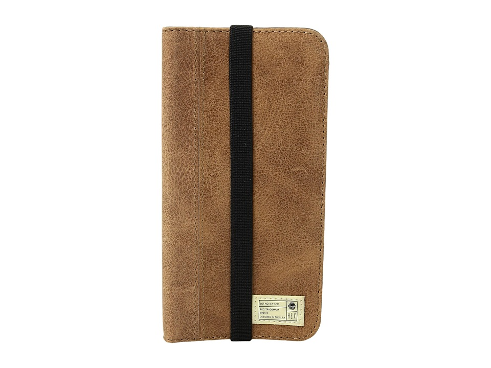 HEX - Icon Wallet iPhone 7 (Brown Leather) Cell Phone Case