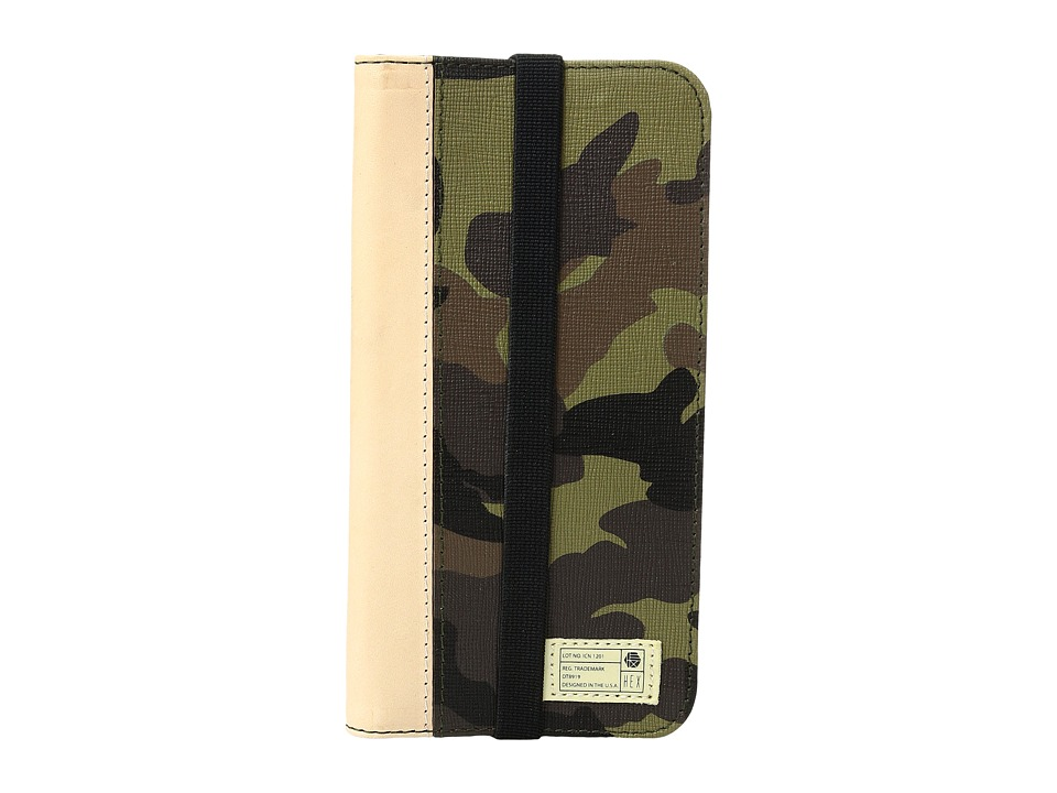 HEX - Icon Wallet iPhone 7 (Camo Leather) Cell Phone Case