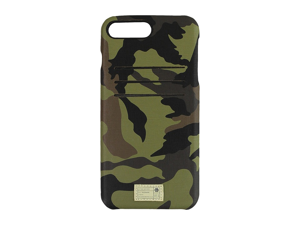 HEX - Solo Wallet iPhone 7 Plus (Camo Leather) Cell Phone Case