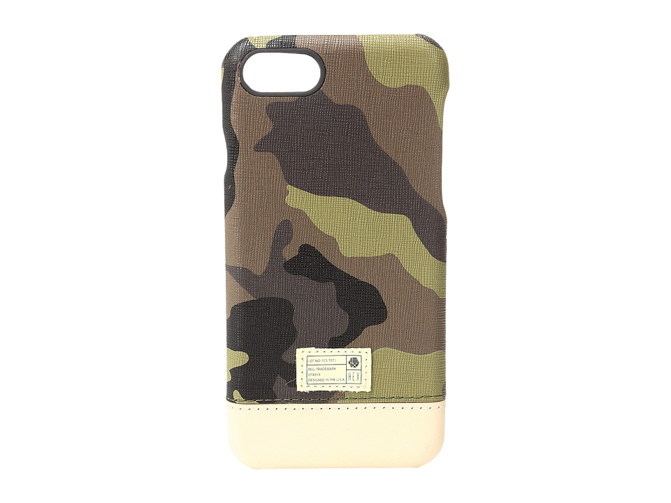 HEX - Focus Case iPhone 7 (Camo Leather) Cell Phone Case