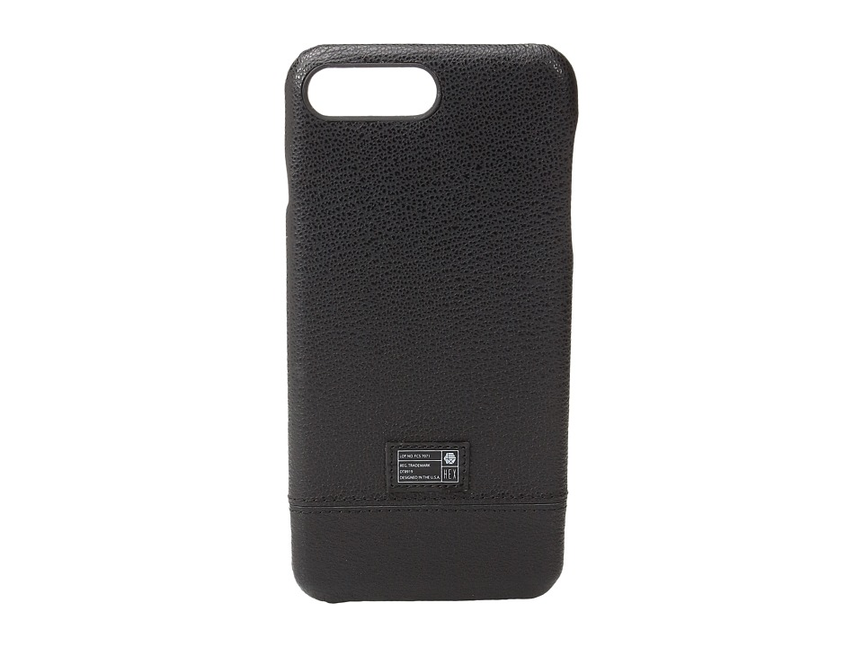 HEX - Focus Case iPhone 7 Plus (Black Leather) Cell Phone Case