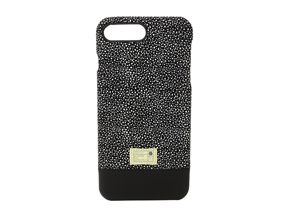 HEX - Focus Case iPhone 7 Plus (Black/White Stingray Leather) Cell Phone Case